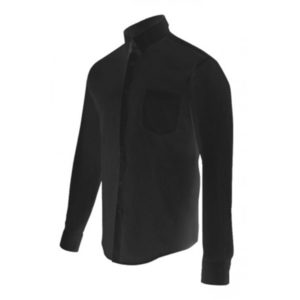 Camisa denim stretch manga larga hombre Serie 405006S Velilla